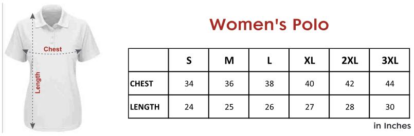 womens-polo tshirt-size-chart