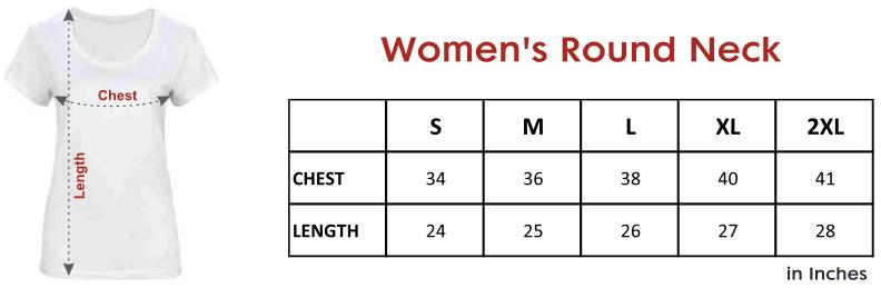 womens-round-neck- tshirt-size-chart